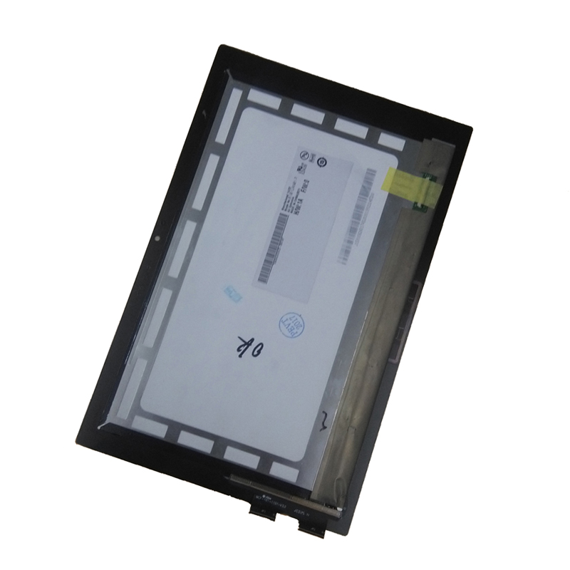 For Lenovo Miix 2 10 Miix2 10 Touch Screen Digitizer Sensor Glass + LCD Display Panel Monitor Assembly new 10 1 inch case for lenovo miix 3 1030 miix 3 1030 miix3 lcd display touch panel screen digitizer glass assembly replacement