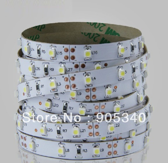High quality 3528 led strip ,5m 300 LED 12V,non waterproof white PCB,flexible light ,furniture,curving,bend lighting ,CE ROHS