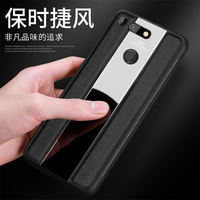 Silicone Gel Soft Frame Bumper for Huawei Honor V20 Genuine Leather Phone Case for Huawei Mate 20/20X/20 Pro Skin Mate 10 Pro
