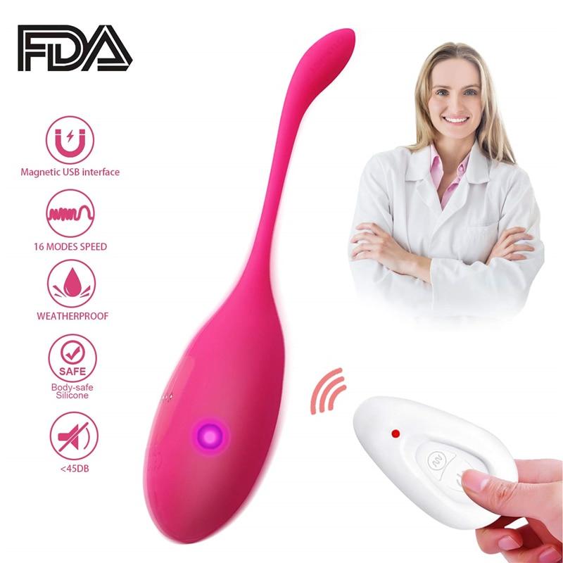 Controle remoto Vibrador Sex Toys para a Mulher Bolas Vaginais de Kegel Bolas Ben Wa Bolas Poderoso Vibrador Clitóris Vaginal Bolas Chinesas