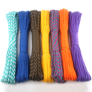 Image 1 - 230 Colors Paracord 550 100FT 50FT Paracord Rope Mil Spec Type III 7Strand Paracorde 550 Survival Kit Equipment Wholesale