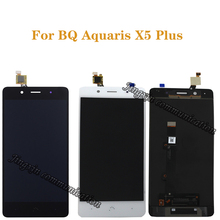 Do BQ Aquaris X5 plus wymiana wyświetlacza LCD do BQ X5 Plus wysokiej jakości wyświetlacz LCD i zestaw montażowy ekranu dotykowego + narzędzia