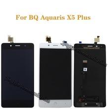 Per BQ Aquaris X5 più display LCD di ricambio per BQ X5 Più di alta qualità del display LCD e touch screen di montaggio kit + strumenti
