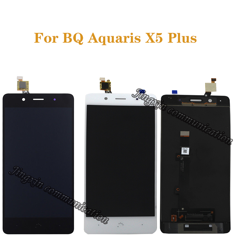 for BQ Aquaris X5 plus LCD display replacement for BQ X5 Plus high quality LCD display and touch screen mounting kit + tools-in Mobile Phone LCD Screens from Cellphones & Telecommunications