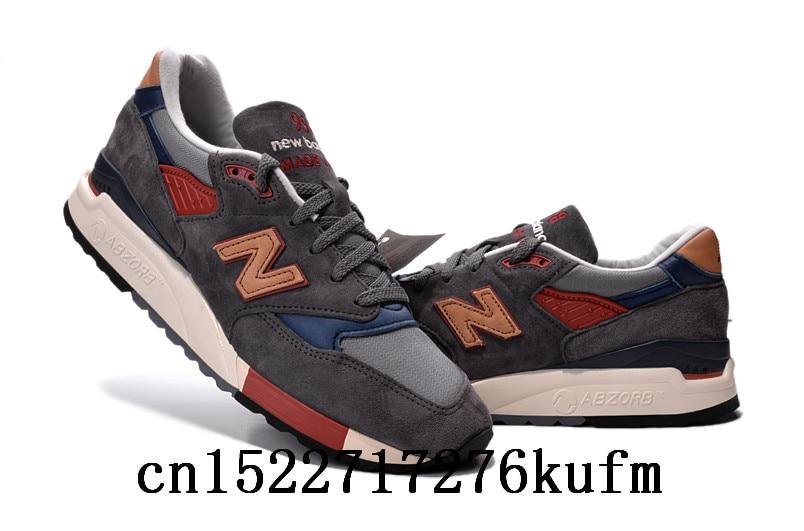 reputable site 5be6c 6204e New Balance M998CBB бадминтон обувь Для женщин и Мужская обувь на открытом  воздухе легкий стабильность сетка кроссовки размер 36 44 купить на ...