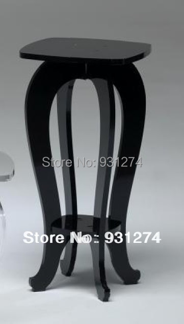 ONE LUX 100% high quality Plexiglass pedestal table,Acrylic lucite display pedestals корректоры medical collagene 3d golden glow eye cream