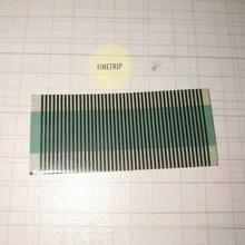 FINETRIP for peugeot 406 Sagem LCD pixel repair ribbon cable replacement flat LCD connector for peugeot 406 Sagem dashboard