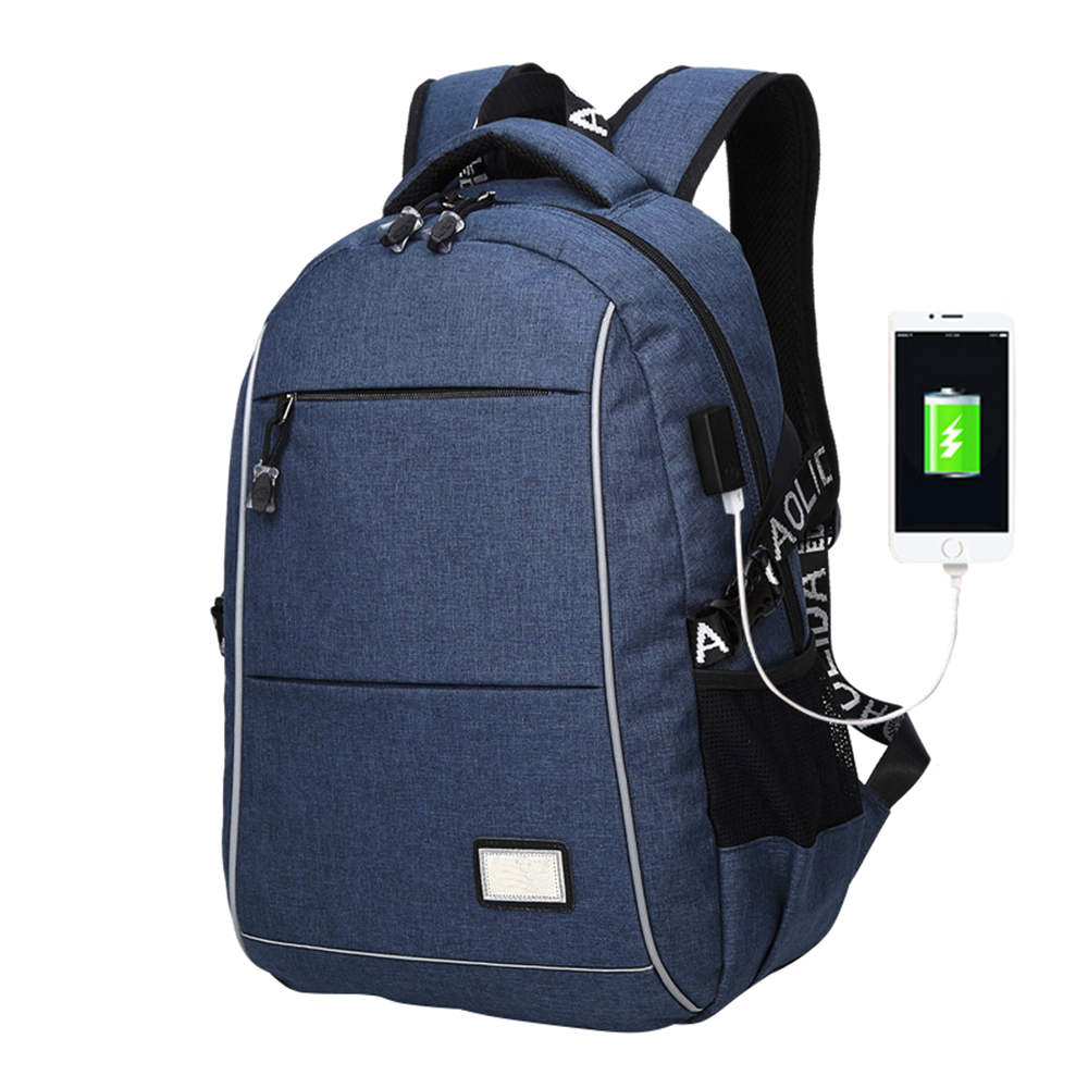 Anti Theft New Travel Backpack School Bag With Usb Charger Laptop Unisex Canvas Shoulder Knapsack Waterproof Bag Sac Mochila new anime gravity falls bill school backpack usb charge interface laptop travel bag unisex black shoulder travel bags