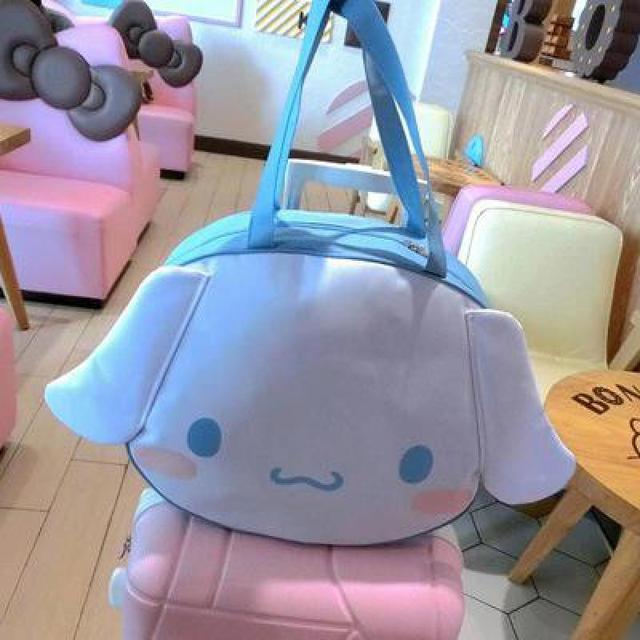 964fb78f5fd44 Cute Cartoon Hello Kitty Moja Melodia Duże Uszy Cinnamoroll Psa 3D Cartoon  Plecak Torebki torby Podróżne