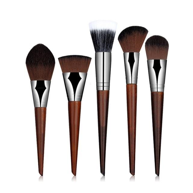 5 Pcs New Professional Cosmetic Makeup Brushes Set Kit Face Powder Blusher Foundation Brush Eyeshadow Brush Cosmetic Tool