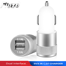 Fuizd Dual USB car charger for Samsung S10 S9 S8 S7 S6 Vehicle Metal Charger for huawei max mate 10 Max/P10/P20 Pro lite/P9 цены