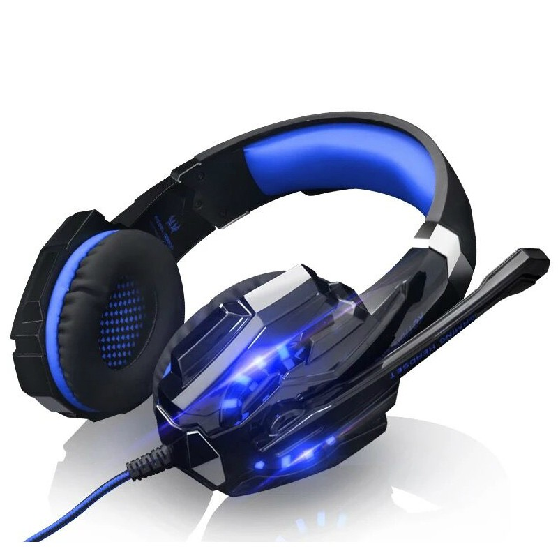 KOTION EACH G9000 USB 7.1 Surround Sound Gaming Headphone PC Game Stereo Headset with Microphone For Computer PC Gamer