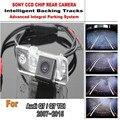 Стоянка для автомобилей Камера Для Audi Q7 Q7 TDI R8 S5 2007 ~ 2015 CCD Ночь Версон Камера Заднего Вида Смарт-Резервное Копирование Треки Камеры