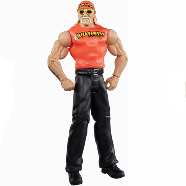 7″Wrestling Wrestler Hulk Hogan Action Figure Toy Doll Brinquedos Figurals Collection Model Gift