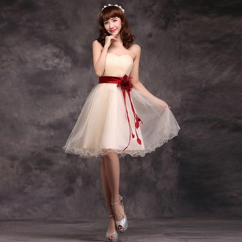 Vestidos de fiesta cortos chinos