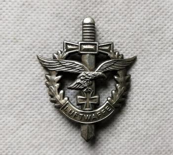 Ww2 niemieckie siły lotnicze luftwaffe przypinka tanie i dobre opinie CN (pochodzenie) Ludzi Antique sztuczna CHINA Miedzi
