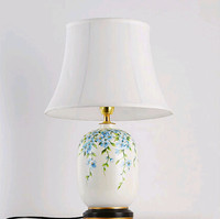 Modern classic fabric lampshade Traditiom white Height 25cm lampshade for bedroom ZLTD018 BZ002