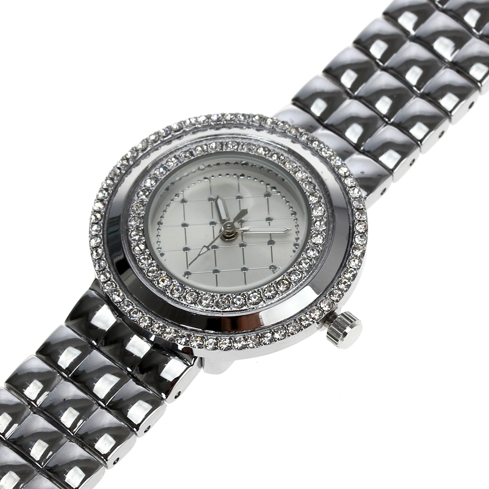 Image 3 - Dreamcarnival 1989 Recommend Elegant Ladies Watches 3 Colors Quartz Watch Women Slim Clock Party Fashion Brand Crystals A8370-in Women's Watches from Watches