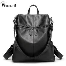 Новая Мода модный ИСКУССТВЕННАЯ кожа рюкзаки Многофункциональный женщины сумку простой дизайн Сумка большой емкости кожаная сумка WLHB1417