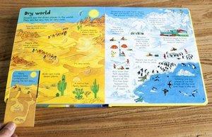 Image 4 - אנגלית ילדי ספרים להסתכל פנימה מקורי תינוק חינוכיים תמונה שלנו העולם עם 80 דשים כדי מעלית מתנה לילדים