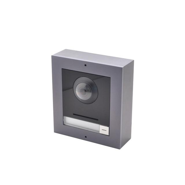 Hik Original IP Video intercom,DS-KD8003-IME1,multi-language 802.3af POE Villa IP Module Doorbell,Door Station,Door phone