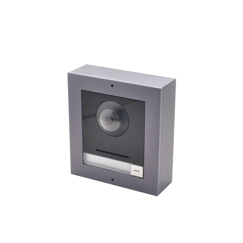 Hik Original Multi-language DS-KD8003-IME2 2-Wire Villa IP Module Doorbell Video Intercom Door Station H.264 Doorbell