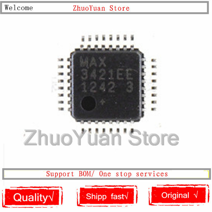1PCS/lot MAX3421EEHJ+T MAX3421EEHJ+ MAX3421EEHJ MAX3421EE MAX3421 3421EE TQFP32 New Original IC Chip