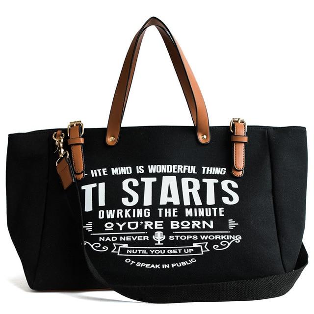 Ladies Women Bag Canvas...