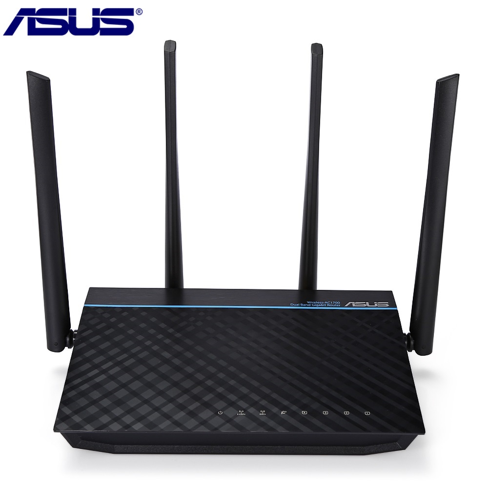 ASUS RT-ACRH17 AC1700 WiFi Router Dual-band Gigabit 1700Mbps IEEE 802.11a/b/g/n/ac 5dBi Quad-Core Router With MU-MIMO цена и фото