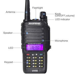 Image 4 - Baofeng UV 5S walkie talkie wasserdicht dual band UV5S two way radio 136 174MHz, 400 520MHz 10 km radio für jagd