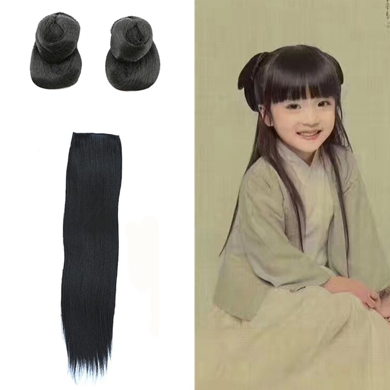 shaped princess cosplay hair for girls photograph supplies lovely kids vintage accessories
