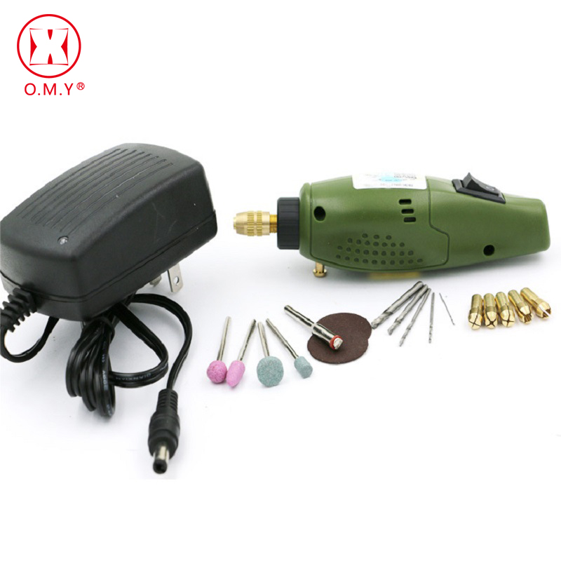 OMY Mini Grinder Grinding Machine Mini Electric Drill with Position Variable Speed for Dremel Rotary Tools mini electric drilling machine variable speed micro drill press grinder pearl drilling diy jewelry drill machines 5168e