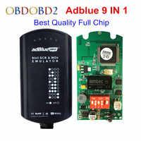 AdBlue Emulator 9 IN 1 Full Chip Support Euro4&5 Adblue with NOx Sensor 9IN1 Update of Adblue 7 in 1 8 in 1 Adblue 9in1