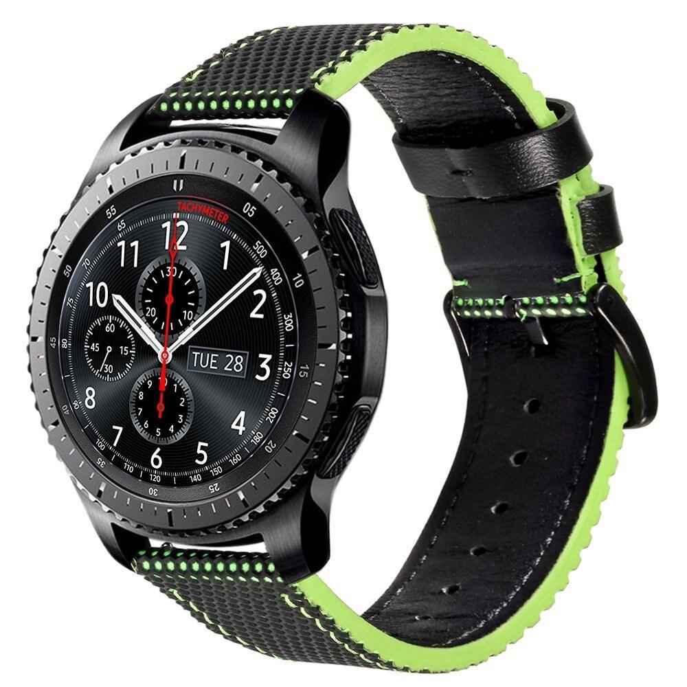 V-MORO 22 mt Echtes Leder Uhrenarmband Für Getriebe S3 Ersatz uhrenarmband Für...