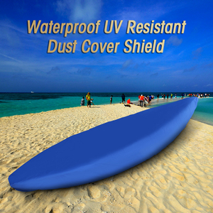 Image 5 - Professional Universal Boat Cover Kayak Canoe Boat Waterproof UV Resistant Dust Storage Cover Shield Cover for Inflatable Boat