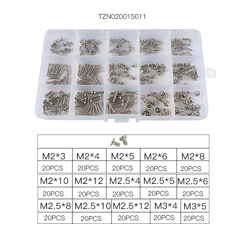Image 3 - luchang Laptop Notebook Nickel Screws Set Computer Electronic Digital Mini Mechanical Assortment Repair Kit Hardware-in Screws from Home Improvement