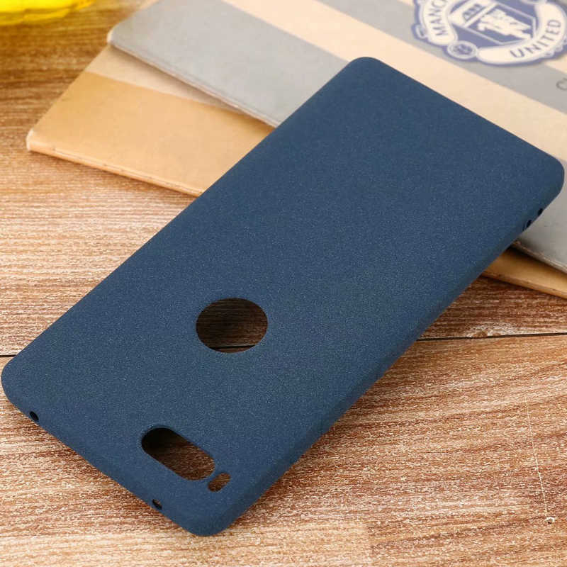 For Smartisan Nut 3 Pro PRO 2 2S R1 Slim Sandstone Silicone TPU Shell Back Cover Case For Meitu M6 M8 V8 T8 T9 Matte case
