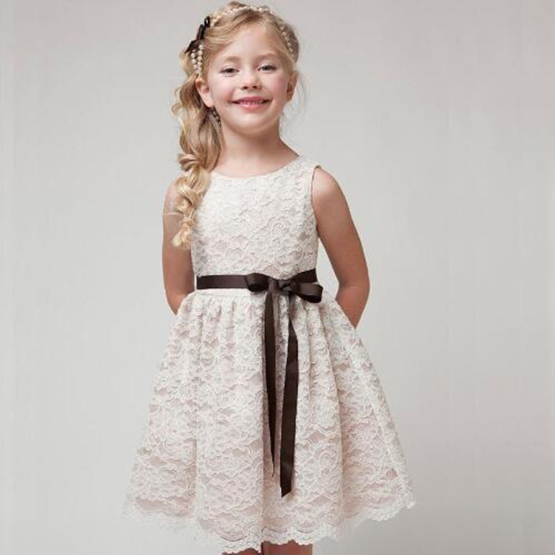 Girl Dress Kids Dress For Girls Dresses Children Clothes 2016 Summer Style Beautiful Lace Party Kids Chothing Girls Clothes ...