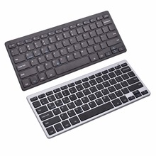 Ultra-Slim Wireless Bluetooth Keyboard Compatible With iOS/Android/Window For Tablet