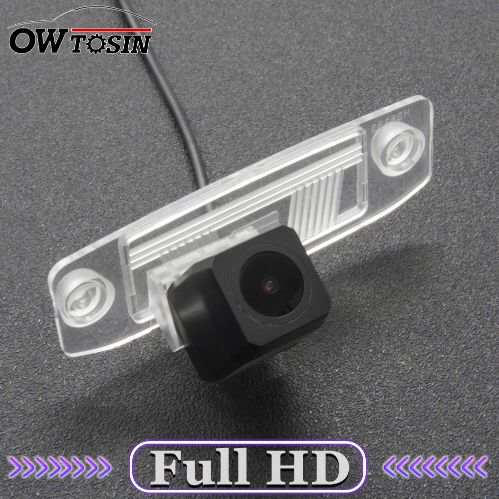 Full HD Backup Rear View Camera For KIA Sportage SL Sportage R Sorento Ceed Rio X-line Car Parking LCD Mirror Monitor