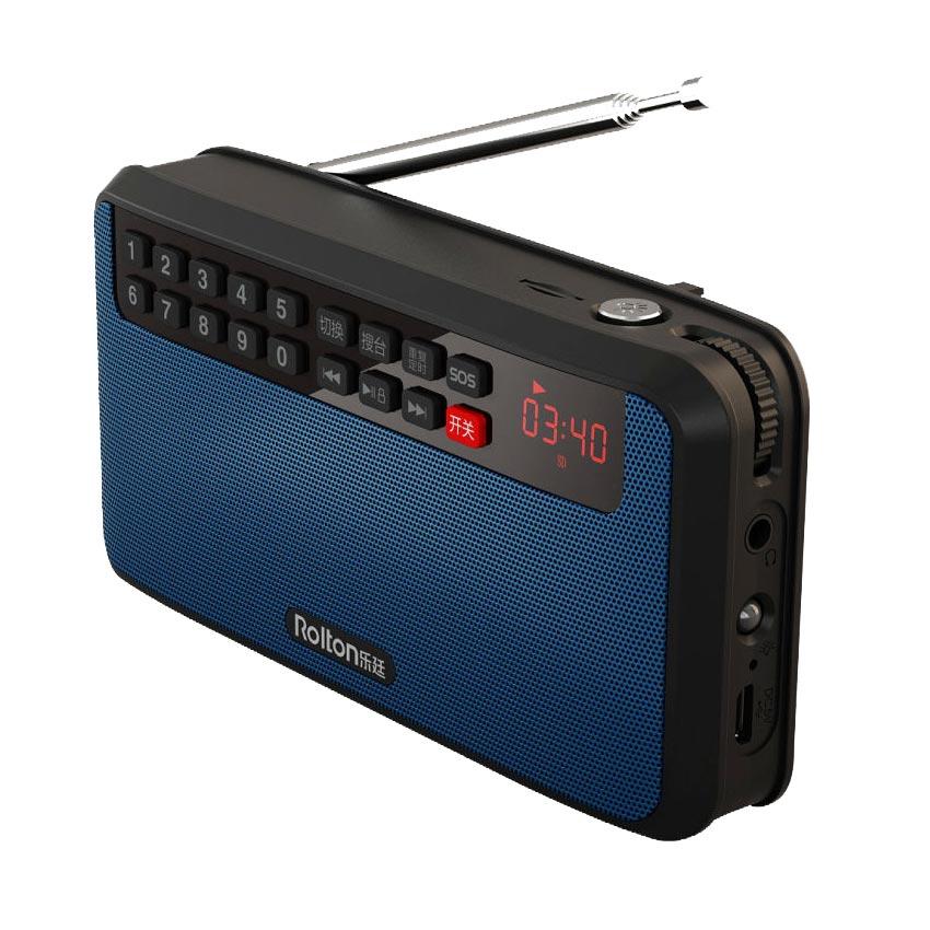 RoltonT60 MP3 Stereo Oyunçu Mini Portativ Səs Dinamiklər FM Radio - Portativ audio və video - Fotoqrafiya 5