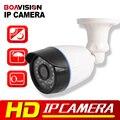 1.0MP Cámara IP 2MP 1080 P H.265 de Vigilancia de Visión Nocturna CCTV de la Bala Impermeable Al Aire Libre HD 720 P Cámara de Seguridad ONVIF XMEye
