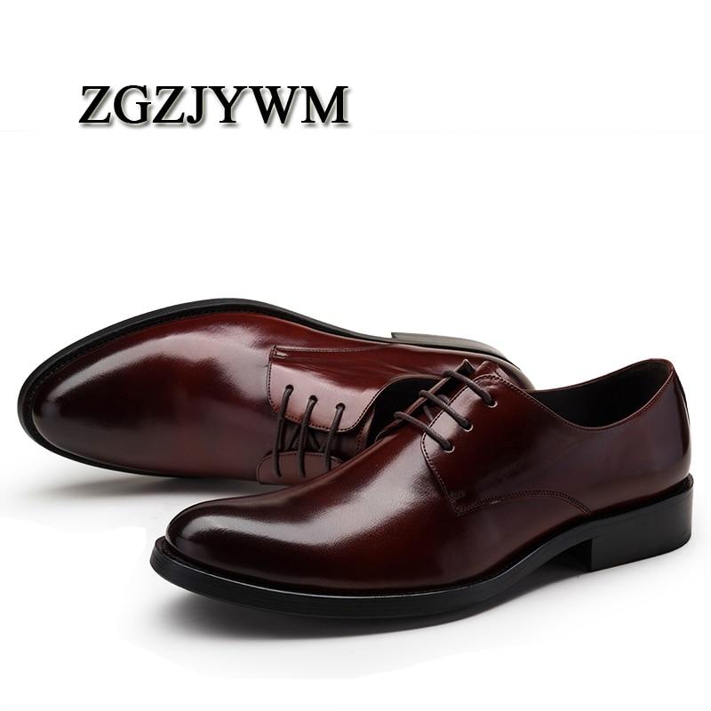 Negócios Do Casamento Preto Dos vermelho Genuíno Oxfords Vermelho Homens Sapatos Vestido Dedo Escritório Formal preto Zgzjywm Couro Apontado up Moda Lace De xqYRaTTU
