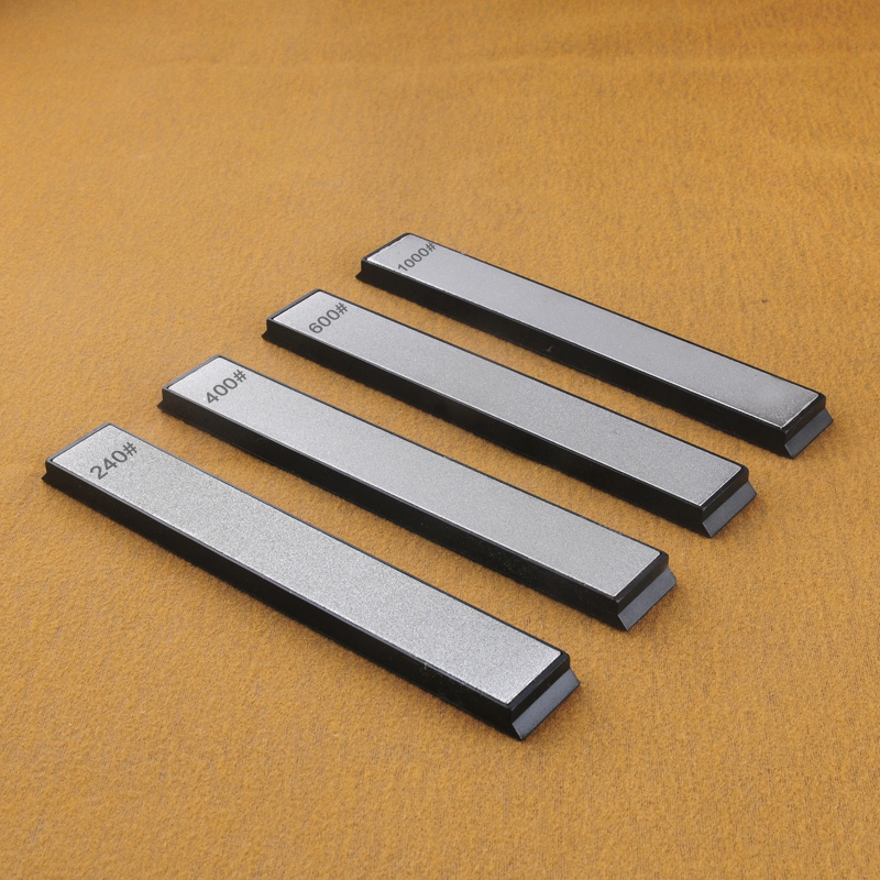 240 400 600 1000 Grit Diamond Knife Sharpener Angle Sharpening Stone Whetstone Professional Knife Sharpener Tool Bar(China)