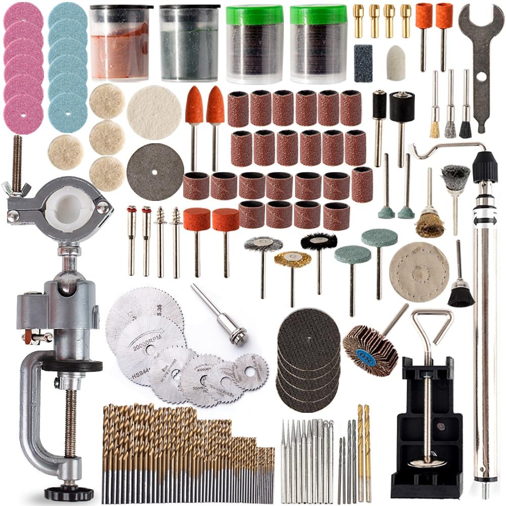 US $11 52 31% OFF 340pcs Mini Drill Multi Tool Accessories Set For Grinding  Polishing Dremel Kits Micro Drill Rotating Polishing Bits Power Tools-in