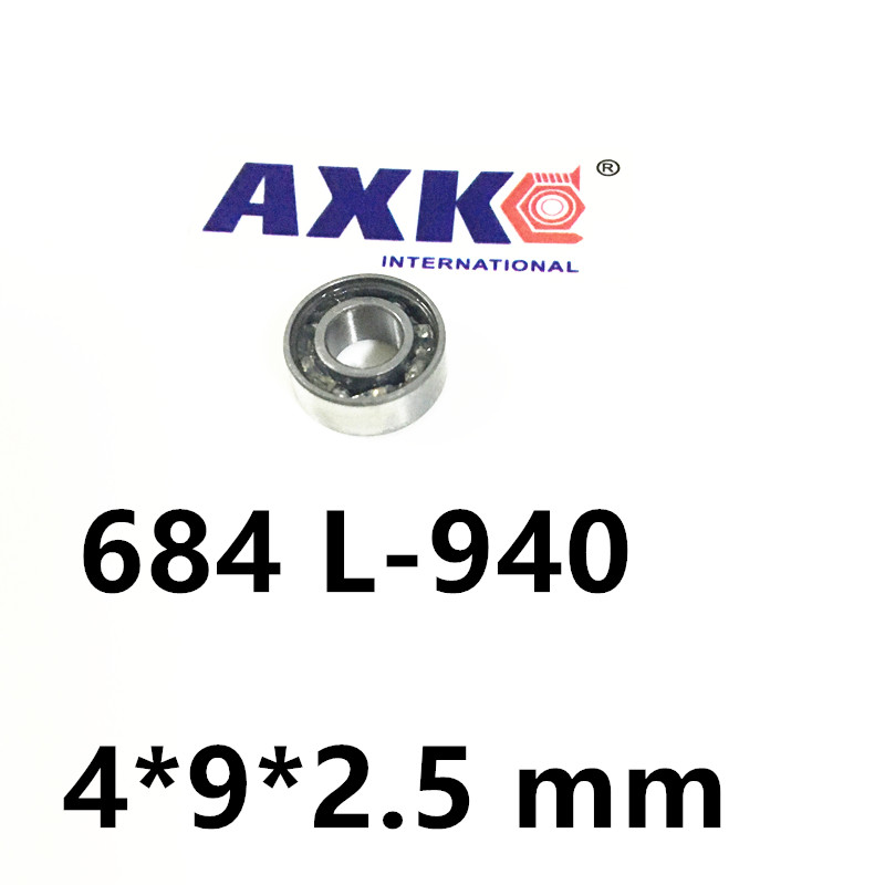 Bearing 684  ABEC-1  MINI Deep groove ball bearing 684 L-940  4*9*2.5 mmBearing 684  ABEC-1  MINI Deep groove ball bearing 684 L-940  4*9*2.5 mm