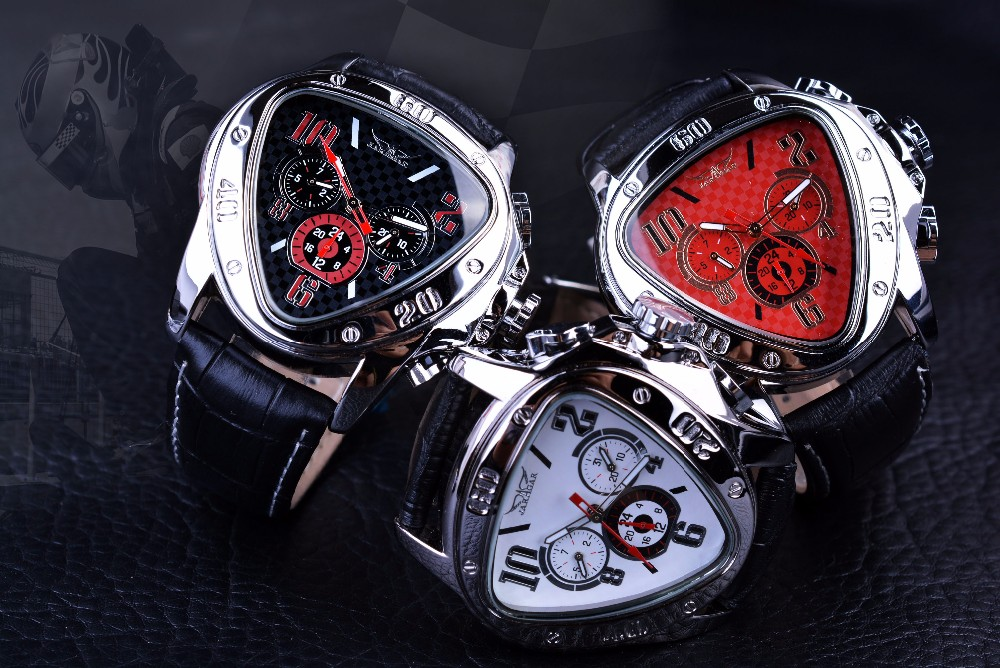 Jaragar GMT951 Triangle Automatic Watch 7