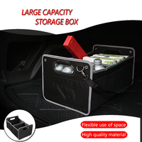 1X Car Accessories Styling Trunk Box Stowing Tidying For Audi A1 A3 A4 B5 B6 B7 B8 C5 C6 C7 A5 A6 A7 A8 Q3 Q5 Q7 8P 80 V8 8L 8V