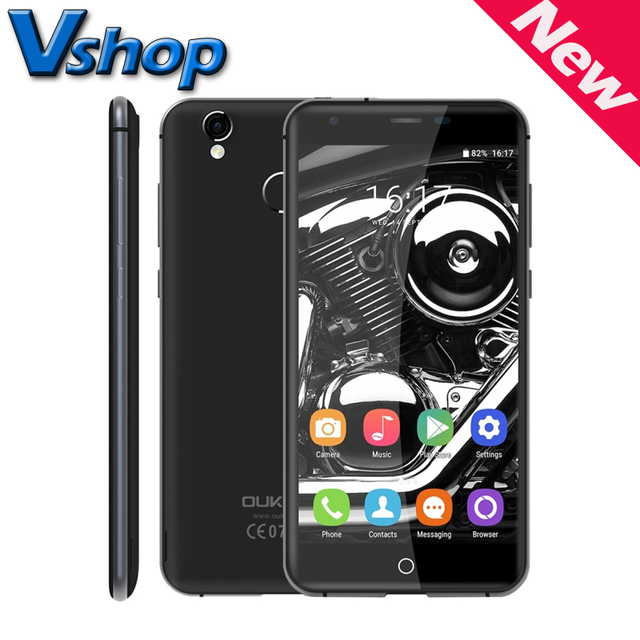 Оригинал OUKITEL K7000 4 Г LTE Android 6.0 MTK6737 Quad Core 1.3 ГГц RAM 2 ГБ ROM 16 ГБ 720 P Dual SIM Смартфон A-GPS отпечатков пальцев