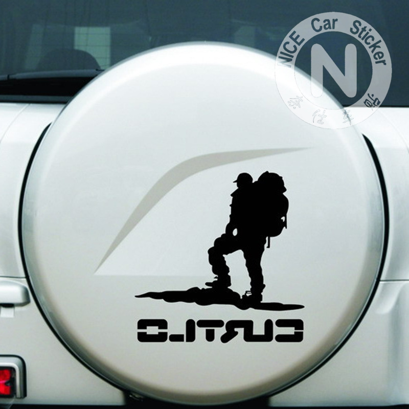 Car Stickers The Climber Traveler Curtlo Decals Auto Tuning Styling Waterproof Fashionable 29*29cm D20